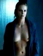 Charlize Theron Erect Nipples