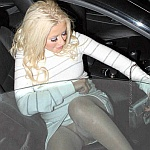 Christina No Panties